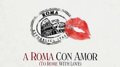 Cartel de la película a Roma con Amor de Woody Allen