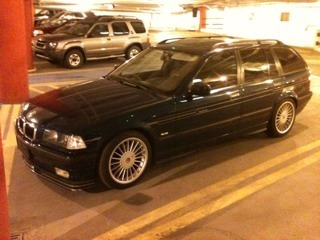 10k Flash: Unspecified Alpina: 1997 BMW E36 Touring