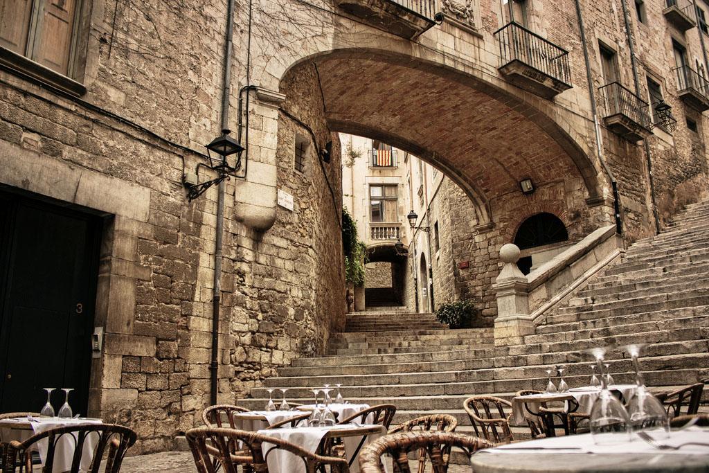 Mis lugares favoritos el call el antiguo barrio jud o de girona - Casco antiguo de girona ...