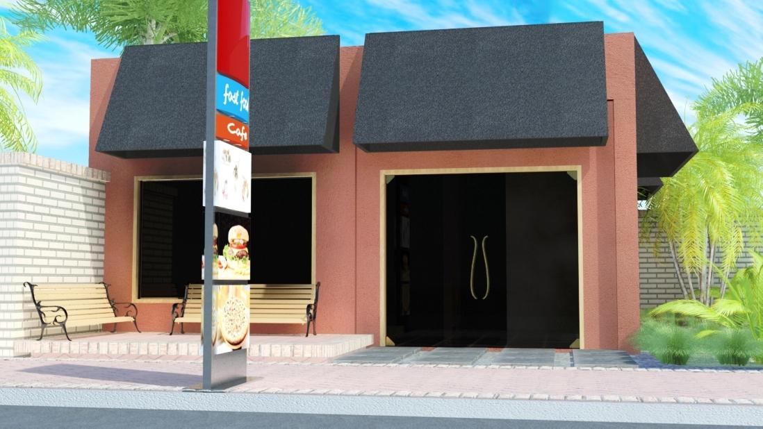 Arquitectura local fast food for Local arquitectura