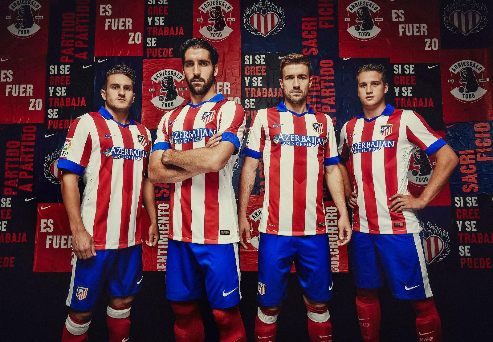Jersey Atletico Madrid 2014-15 Terbaru