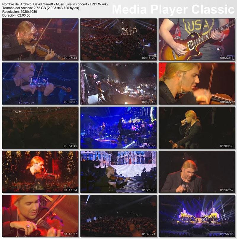 David Garrett - Music Live in concert (2009) [Mega]
