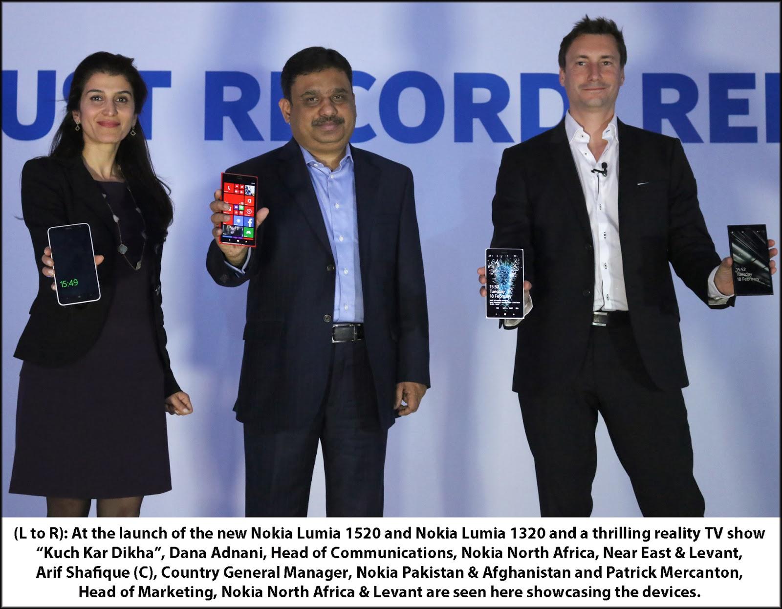 Nokia Launch Event Pakistan