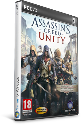 Assassins Creed Unity For PC Full Crack Version Cover http://jembersantri.blogspot.com