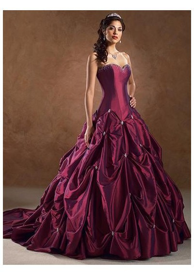 Ball Gown Wedding Dresses Color : Ball gowns wonderful wedding dress for the brides