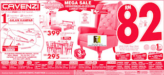 Cavenzi Furniture Mega Sale 2012