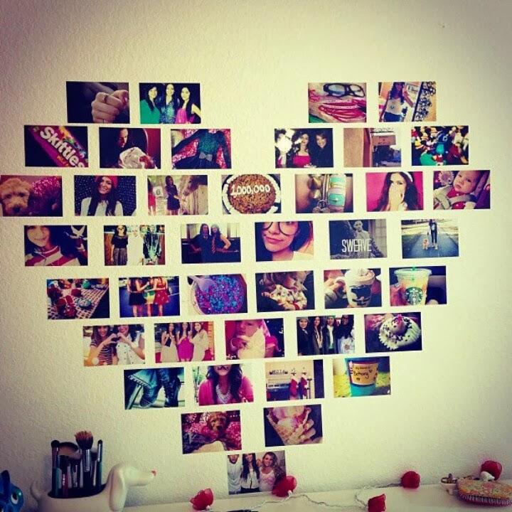 Стена фотографий своими руками