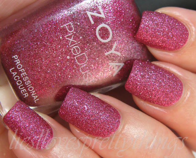 Zoya PixieDust Arabella swatch and review