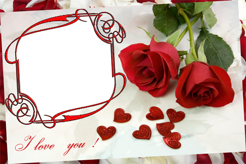 Free I Love You Picture Frames