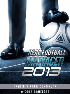 Jogos Celular Touch Screen Real Football Manager 2013