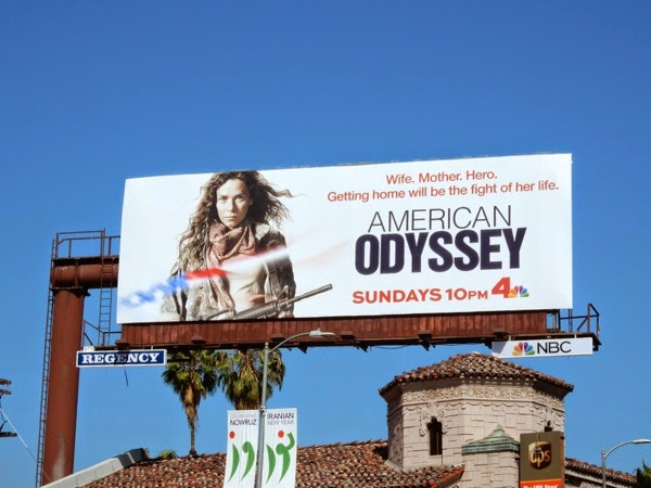 American Odyssey series premiere billboard