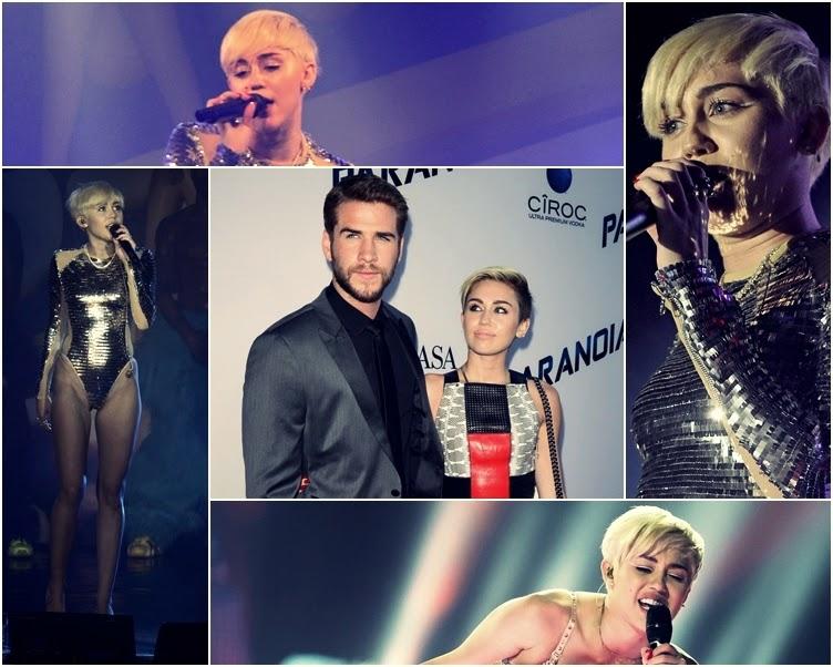 Miley Cyrus i Liam Hemsworth 2014