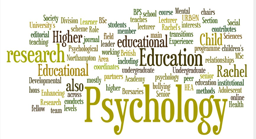 faculty research concentrations educational psychology