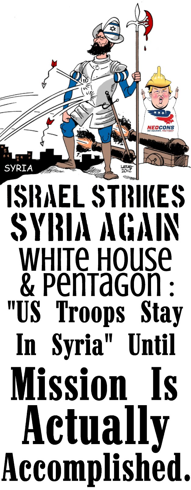 Israel Strikes Syria Again!