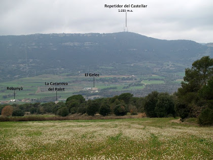 Els Cingles del Bertí des del Racó de Sant Mamet