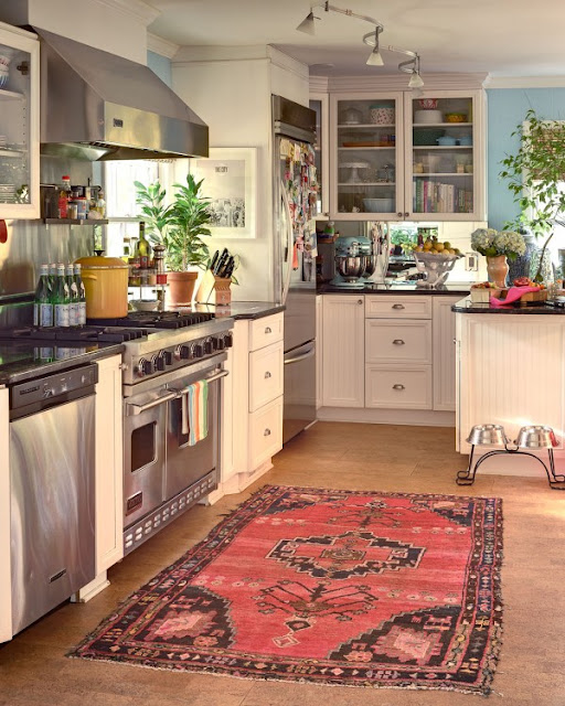 Gretchen Opgenorth: Use Persian Rugs In Your Kitchens And