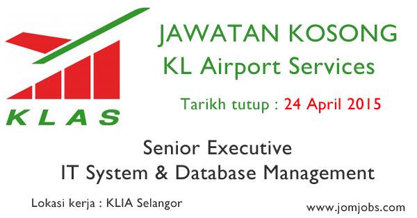 Jawatan Kosong KL Airport Services