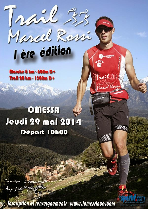 Trail Marcel Rossi au profit de la Marie Do