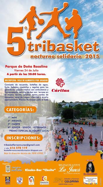 El 5º Tribasket nocturno solidario de Fernán Nuñez calienta motores