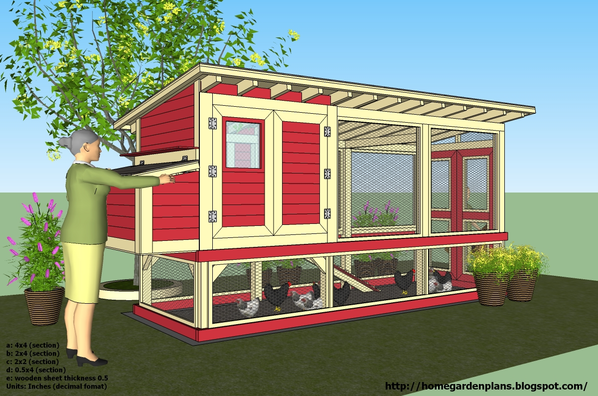 Cute chicken house plans home design and style for Cute chicken coop ideas