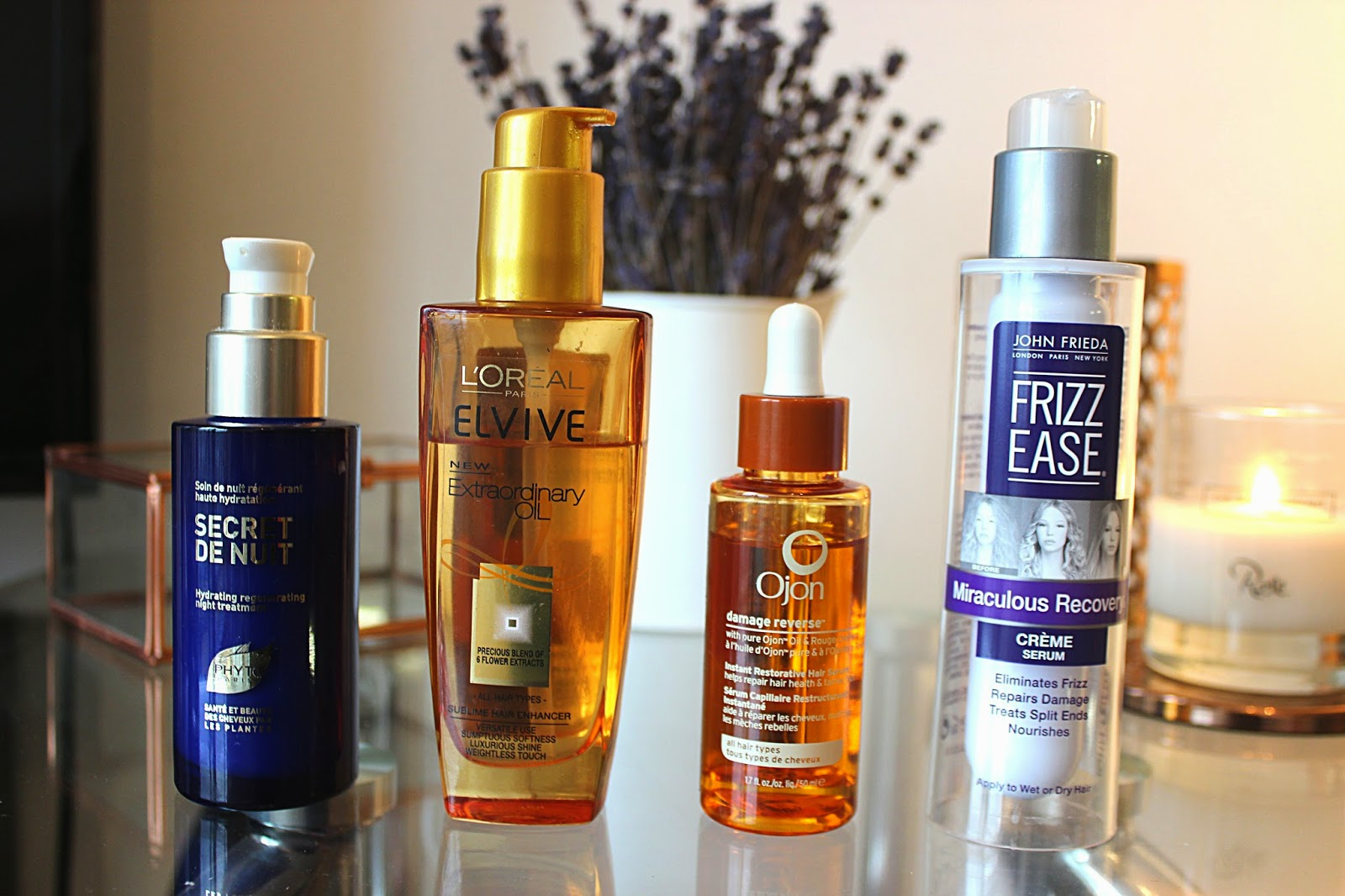 The Best Hair Oils