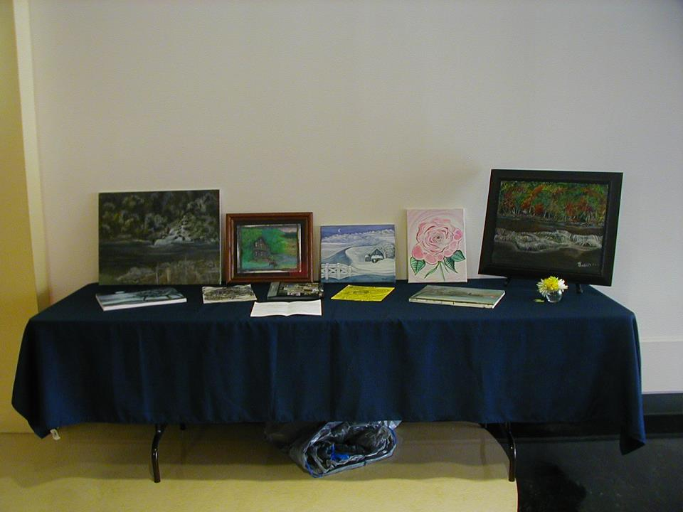My Art Exhibit, American University, Washington, D.C. 9/10/11