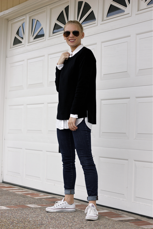 Shae Roderick, Current Habits, outfit, style, fashion, blogger, black and white