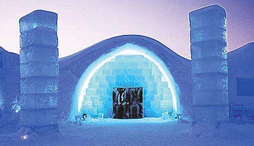 World Visits Visit To Ice Hotel In Sweden