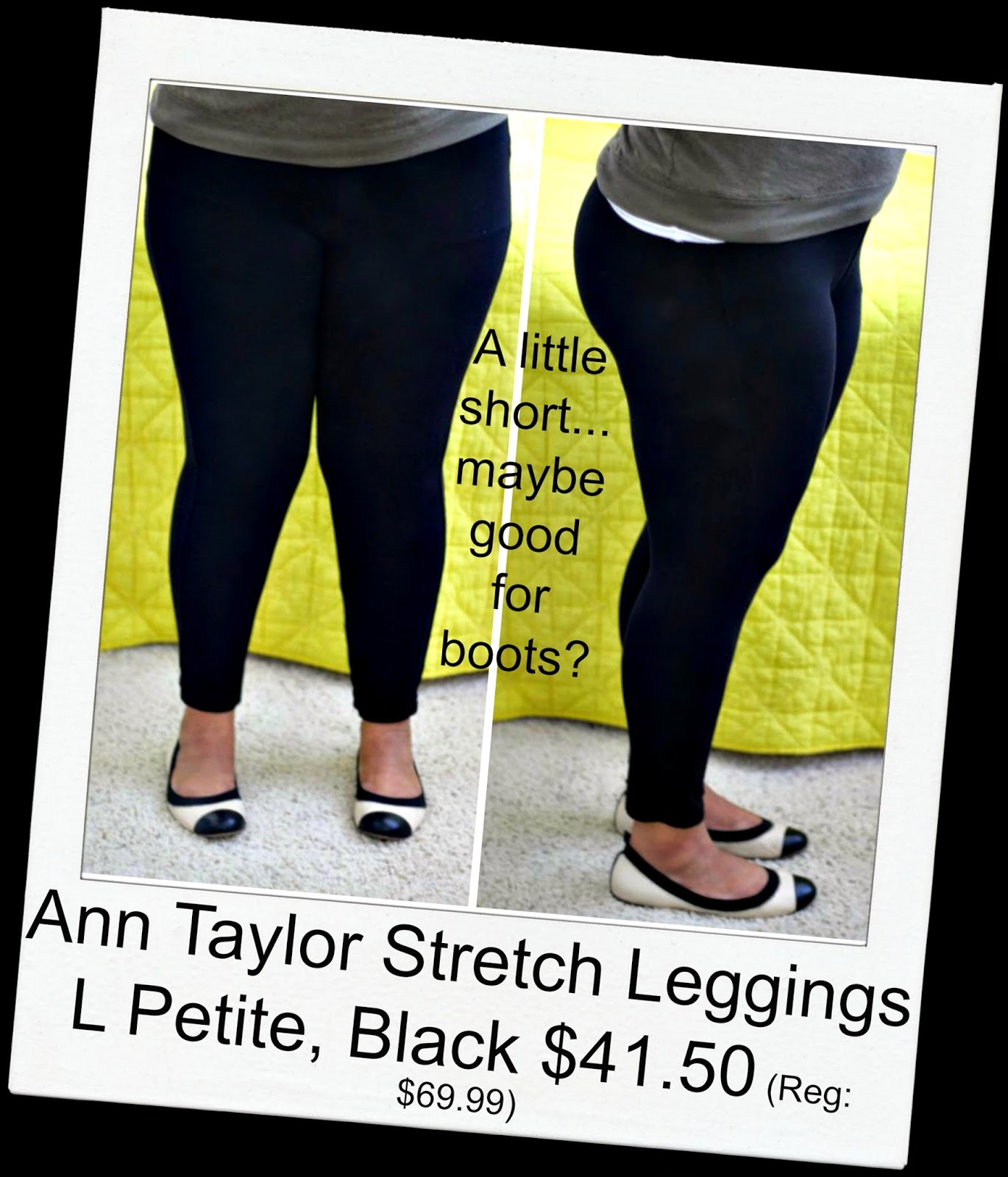 Curvy, Petite Outfit Ideas | Professional and Casual-Chic Fashion and Style Inspiration | ann taylor legging review