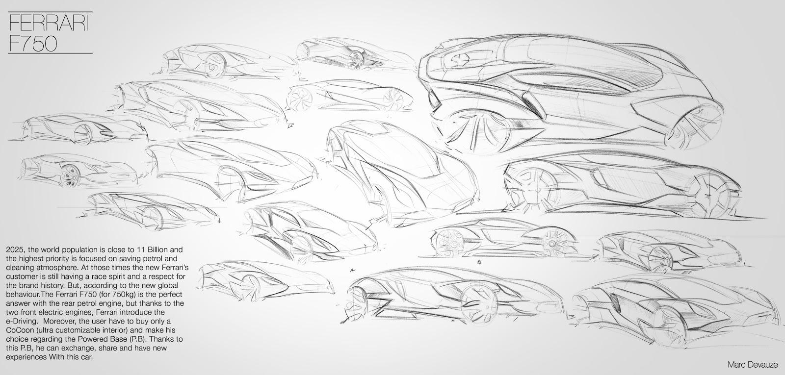 Devauze Design Ferrari World Design Chalenge 2011