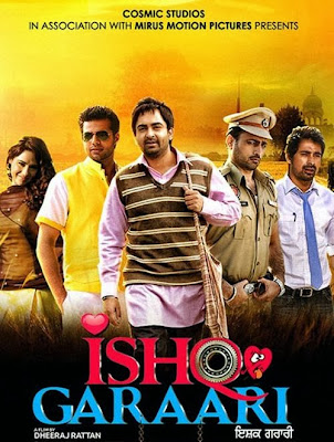 Poster Of Ishq Garaari (2013) Full Punjabi Movie Free Download Watch Online At worldfree4u.com
