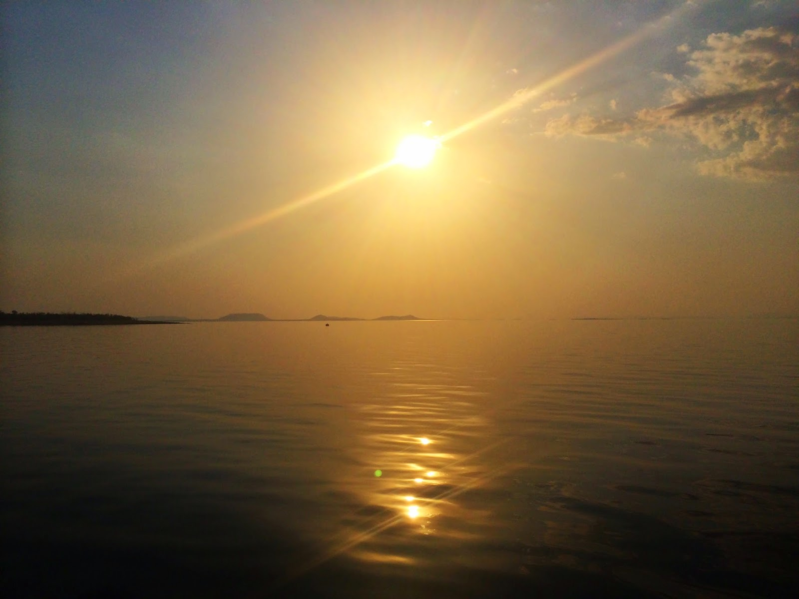 Yet another stunning sunset over Lake Kariba