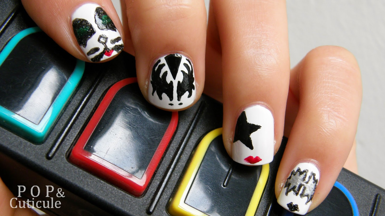 Pop & Cuticule - Nail Art Kiss - Nailstorming
