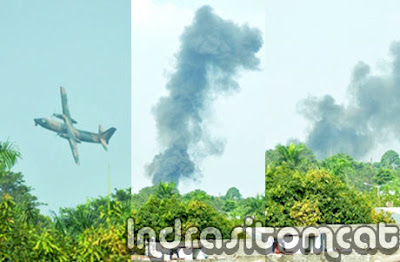 Kronologi Jatuhnya Pesawat Fokker Halim Perdana Kusuma Kamis 21 Juni 2012