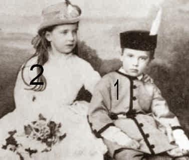 Rudolf et Gisela d'Autriche-Habsbourg-Lorraine-famille impériale d'Autriche
