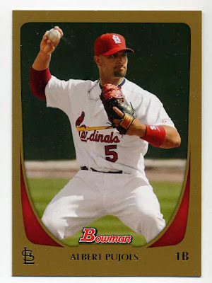 2011 Bowman Gold Albert Pujols