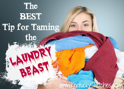 The Best Tip for Taming the Laundry Beast