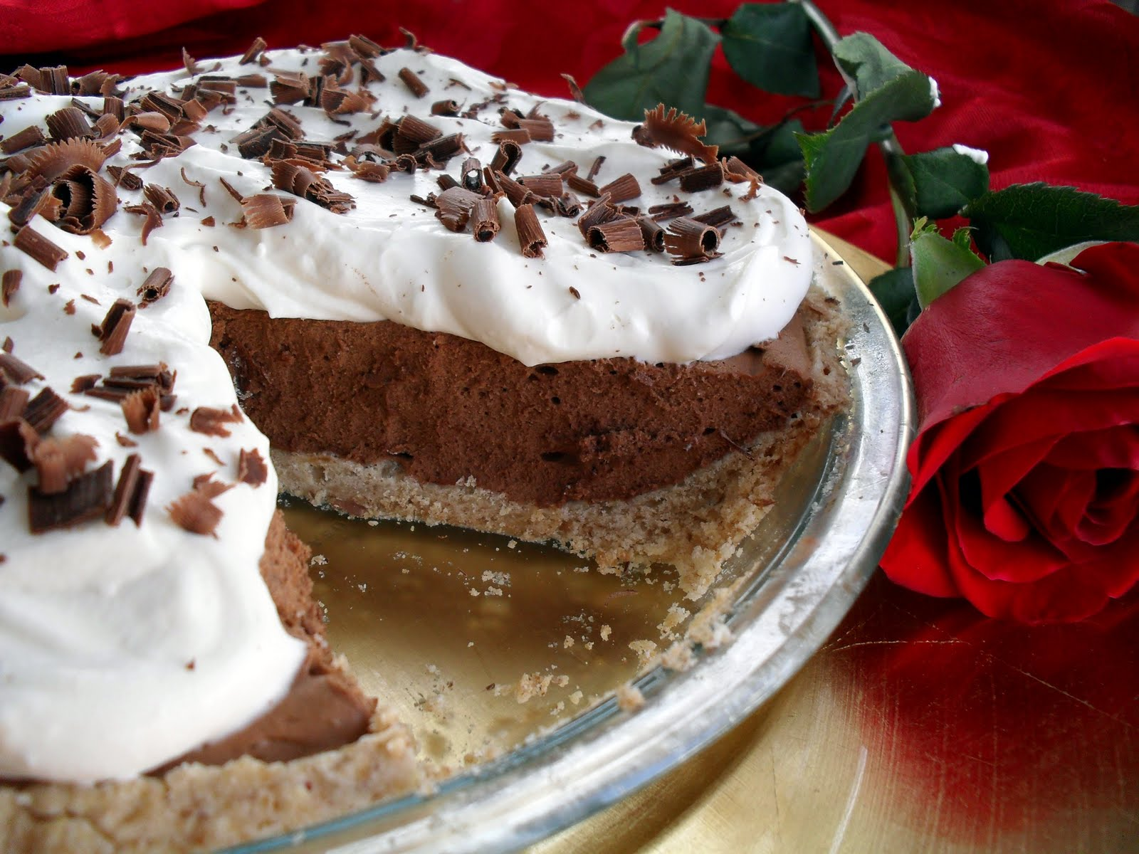 Chocolates: French chocolate silk pie