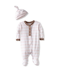 MyHabit: Up to 60% off Coccoli: Cotton Footie with Cap