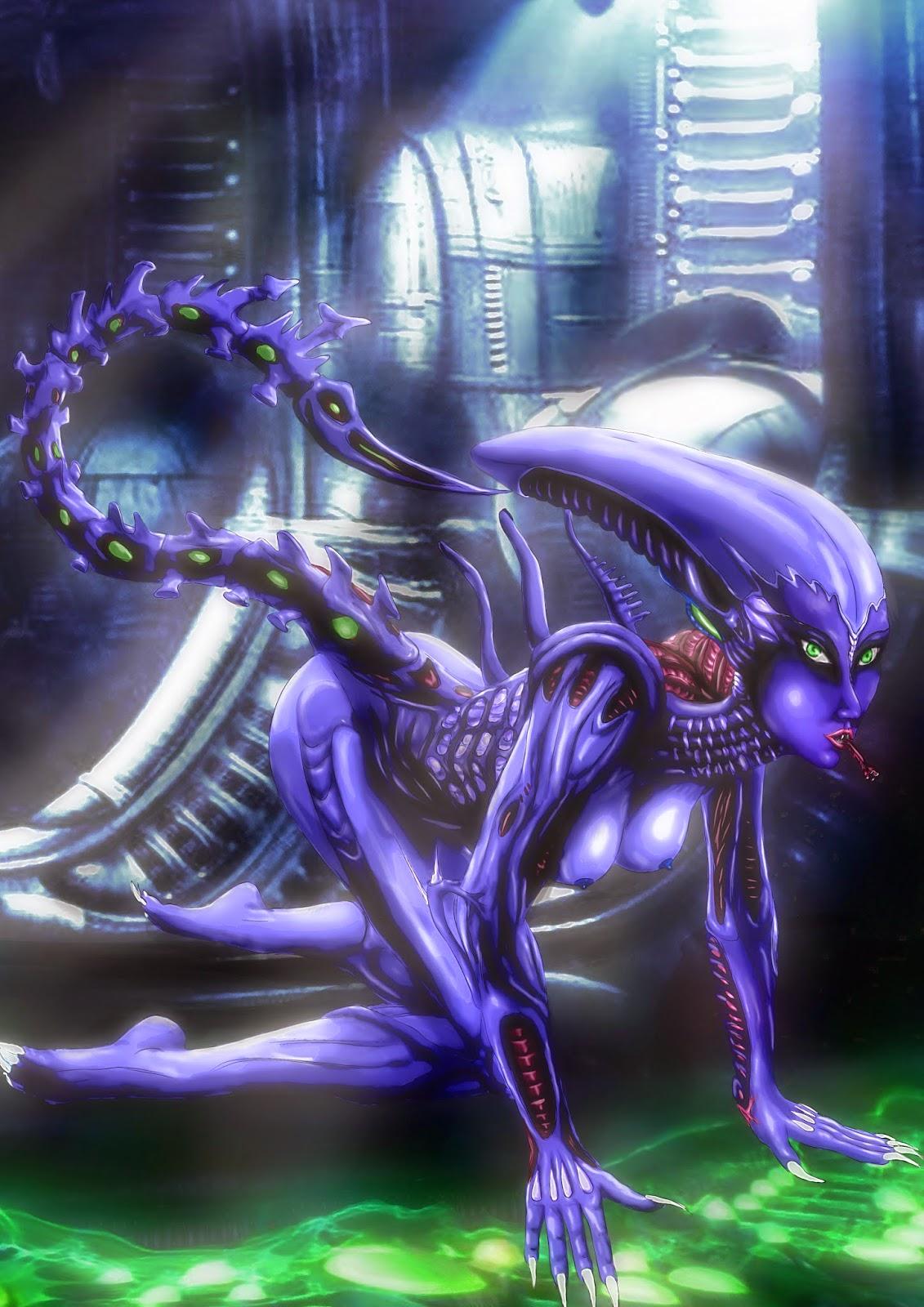Sexy alien hybrid sexy gallery