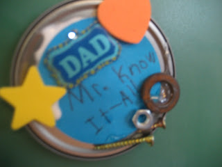 Father's Day Lid craft
