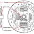 Bagian-bagian Plat Kopling (Clutch Disc)