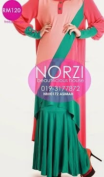 NBH0172 ASIMAH FISHTAIL FULLSET (NURSING FRIENDLY)