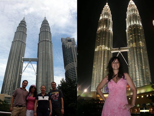 torres petronas towers kuala lumpur malasia