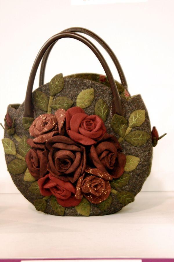 Bolsa De Tecido Pinterest : Louca por artes bolsas em tecidos