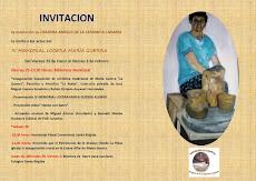 IV MEMORIAL LOCERA MARÍA GUERRA Presentación del libro Identidad Canaria...