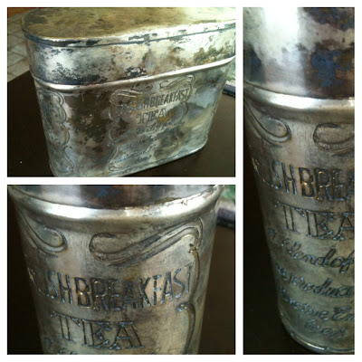Vintage English Tea Tins