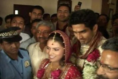 Vijender Singh Archana Marries Photos
