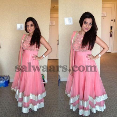 Nisha Agarwal Baby Pink Salwar