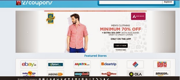 27coupons.com - A favourite with e-commerce sites